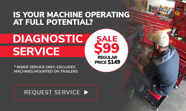 Diagnostic Service Sale $99