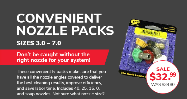 Nozzle Packs